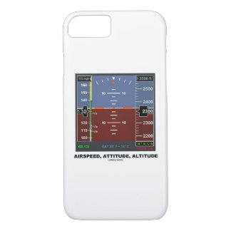Airspeed Attitude Altitude Electronic Flight EFIS iPhone 7 Case