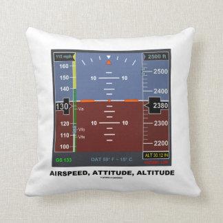 Airspeed Attitude Altitude Electronic Flight EFIS Pillow