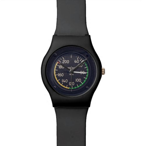 Airspeed Gauge Wrist Watch