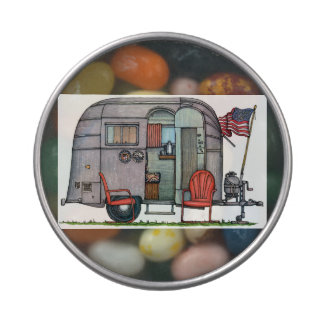 Airstream Candy Tins