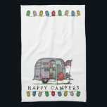 "Airstream Hand Towel<br><div class=""desc"">Bless those that see the world from the windows of an RV! Like the rugged, stalwart folks that crossed the continent in covered wagons, these individuals today settle in every nook and crany of this great land. RVer hearts are as big as the outdoors and as warm as the campfires...</div>"