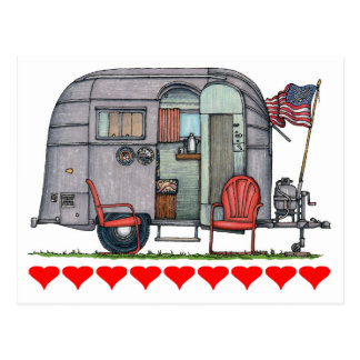 Airstream Post Card