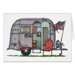 Airstream Stationery Note Card