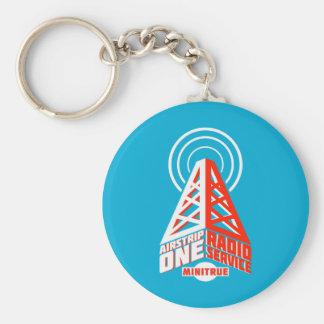 Airstrip One Radio Service Keychain