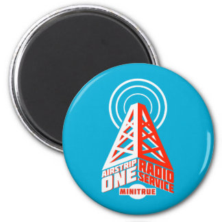 Airstrip One Radio Service Magnets