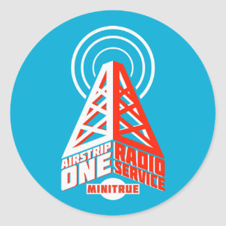 Airstrip One Radio Service Stickers
