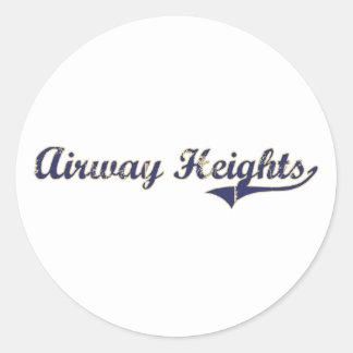 Airway Heights Washington Classic Design Sticker
