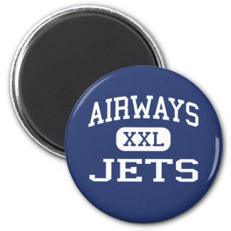 Airways Jets Middle School Memphis Tennessee 2 Inch Round Magnet