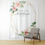 "Airy Blush Bridal Shower Backdrop Photo Booth<br><div class=""desc"">Your guests will LOVE posing in front of this stunning backdrop! This will be the hit of the shower!