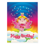 Airy Fairy Up in the Air Birthday Postcard