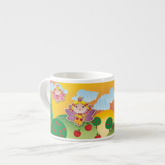 Airy Fairyland Expresso Mug 6 Oz Ceramic Espresso Cup
