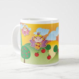 Airy Fairyland Jumbo Mug 20 Oz Large Ceramic Coffee Mug