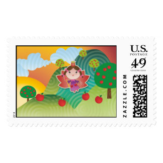 Airy Fairyland Postage Stamp
