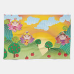 Airy Fairyland Towels