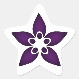 AIS-DSD Support Group Logo Items Star Sticker