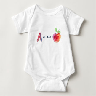 AisForApple Baby Bodysuit