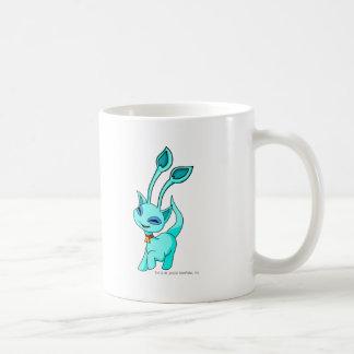 Aisha Blue Classic White Coffee Mug