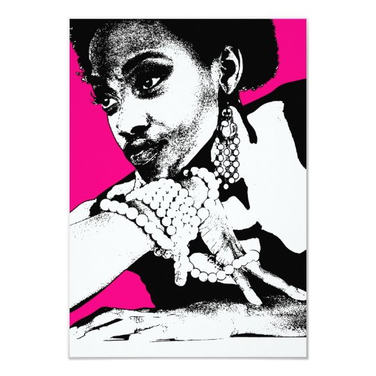 Aisha Pink Card