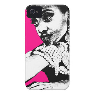 Aisha Pink iPhone 4 Covers