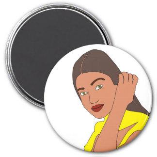 Aishwarya Rai 3 Inch Round Magnet