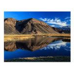 Aislamiento reflexivo tarjeta postal