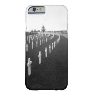 Aisne-Marne American Cemetery_War Image Barely There iPhone 6 Case