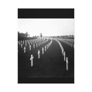 Aisne-Marne American Cemetery_War Image Canvas Print