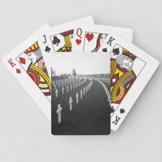 Aisne-Marne American Cemetery_War Image Poker Cards