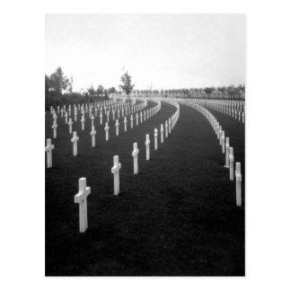Aisne-Marne American Cemetery_War Image Postcard