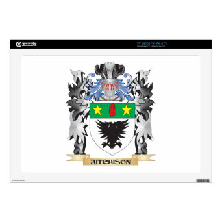 """Aitchison Coat of Arms - Family Crest Skin For 17"""" Laptop"""