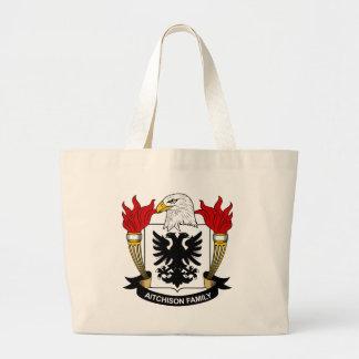 Aitchison Family Crest Canvas Bags