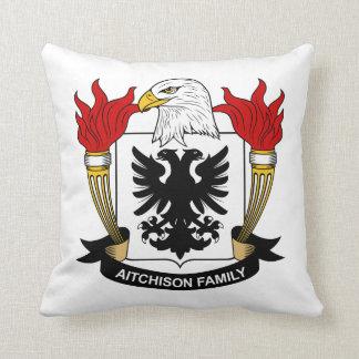 Aitchison Family Crest Pillow