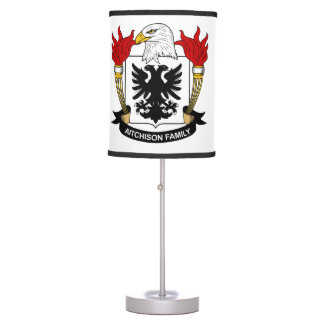 Aitchison Family Crest Table Lamp