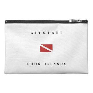 Aitutaki Cook Islands Scuba Dive Flag Travel Accessories Bags
