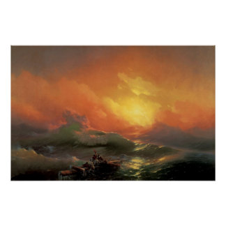Aivazovsky, Ivan - The Ninth Wave Poster