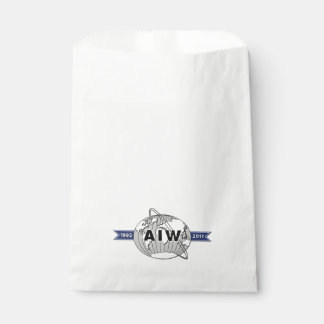 AIW 25th Anniversary Logo Favor Bag
