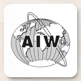 AIW Logo Coaster Set