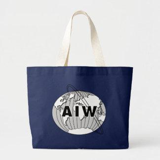 AIW Logo Large Tote Bag