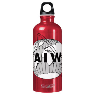 AIW Logo - Many Colors Possible SIGG Traveler 0.6L Water Bottle
