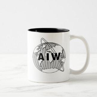 AIW Logo Mug - Black Interior
