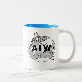 AIW Logo Mug - Blue Interior