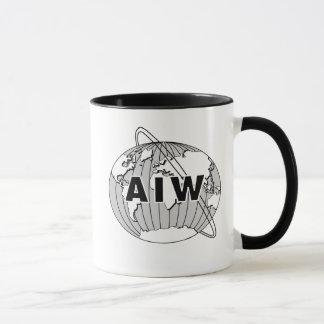 AIW Logo Mug-Choose Handle and Rim Color Mug