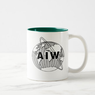 AIW Logo Mug - Hunter Green Interior