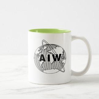 AIW Logo Mug - Lime Interior
