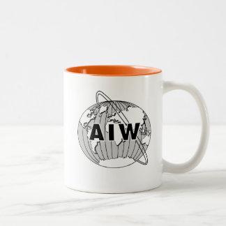 AIW Logo Mug - Orange Interior