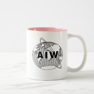 AIW Logo Mug - Pink Interior