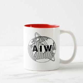 AIW Logo Mug - Red Interior