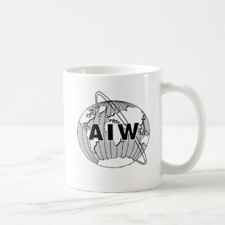 AIW Logo Mug - Smaller Logo Style - Classic White
