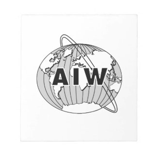 AIW Logo Notepad