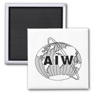 AIW Logo on White Background Magnet